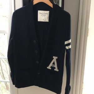 Abercrombie & Fitch letterman's cardigan
